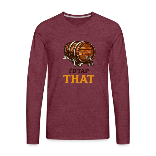 Beer / beer keg fan - gift idea - Men's Premium Longsleeve Shirt