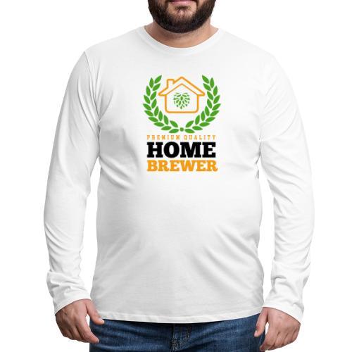 Brauer / Heimbrauer gift idea - Men's Premium Longsleeve Shirt