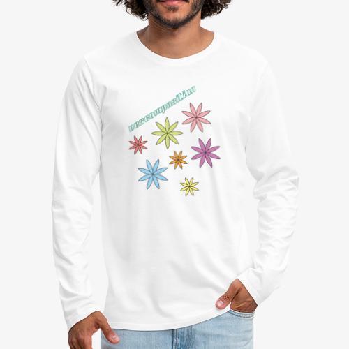 SOLRAC composition - Camiseta de manga larga premium hombre