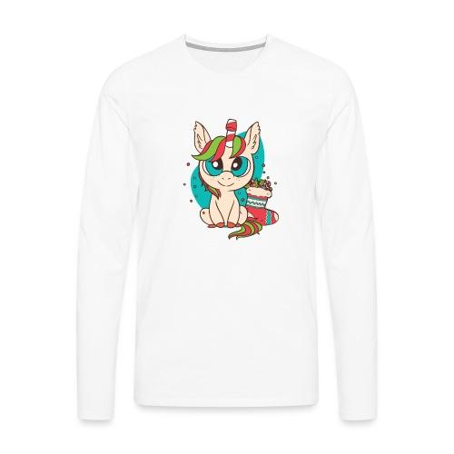 Unicorn Christmas - Männer Premium Langarmshirt