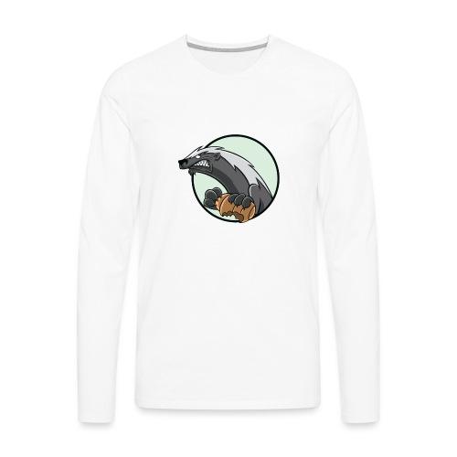 HoneyBadger - Männer Premium Langarmshirt