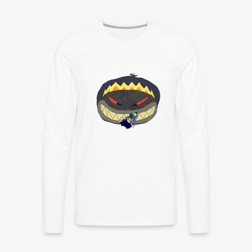 chicxulub et dinos - T-shirt manches longues Premium Homme