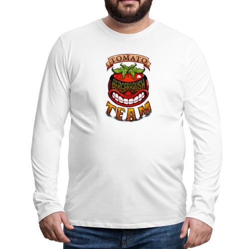 Tomato Team - Långärmad premium-T-shirt herr