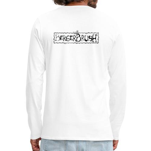 Tomato Team - Twitch Back - Långärmad premium-T-shirt herr