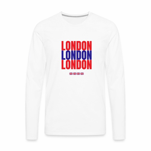 Shop London Hoodie, Sweatshirt Souvenir T-shirts - Men's Premium Longsleeve Shirt