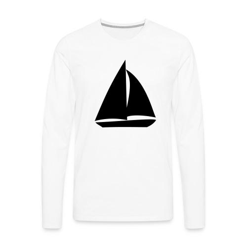 Segelyacht - Männer Premium Langarmshirt