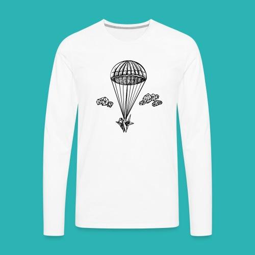 Veleggiare_o_precipitare-png - Maglietta Premium a manica lunga da uomo