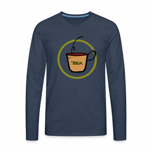 Teeemblem - Männer Premium Langarmshirt