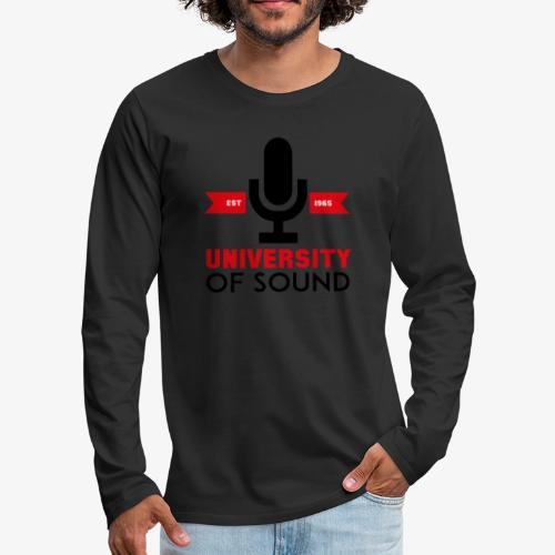 University 4 - Camiseta de manga larga premium hombre
