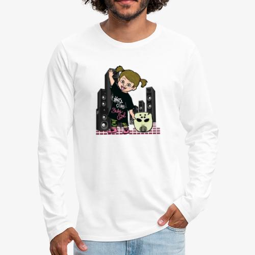 baby girl angerfist - T-shirt manches longues Premium Homme