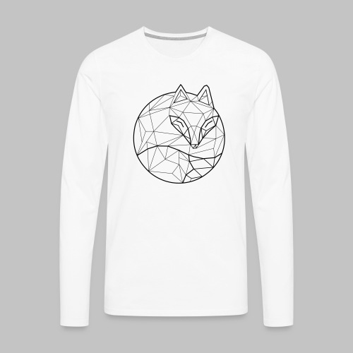 Fox Graph - Men's Premium Longsleeve Shirt