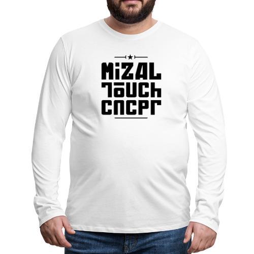 Logo MiZAL Touch Concept - T-shirt manches longues Premium Homme
