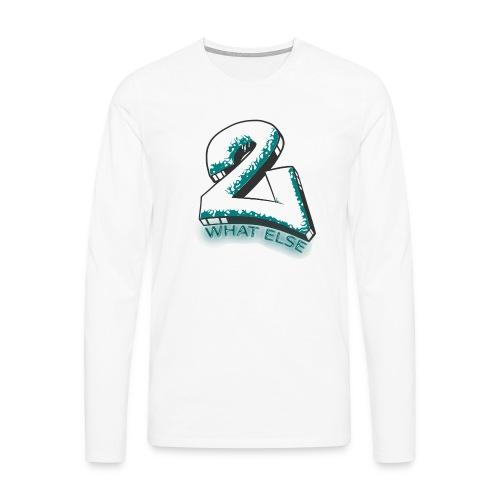 77 what else - Männer Premium Langarmshirt
