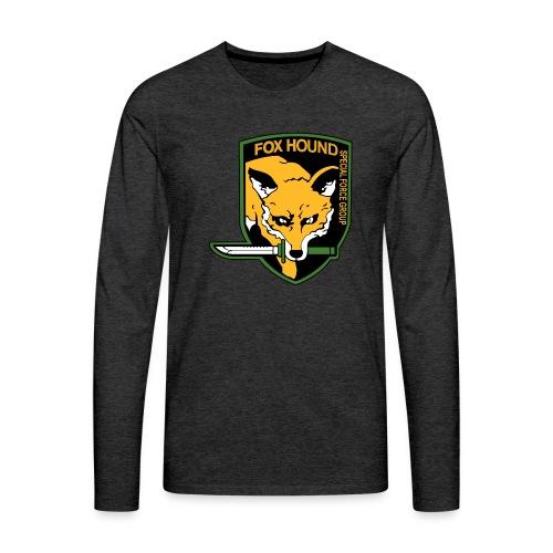 Fox Hound Special Forces - Miesten premium pitkähihainen t-paita