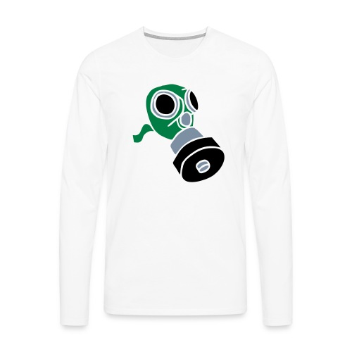 Gasmaske poison gas mask fallout giftgas BondageSM - Männer Premium Langarmshirt
