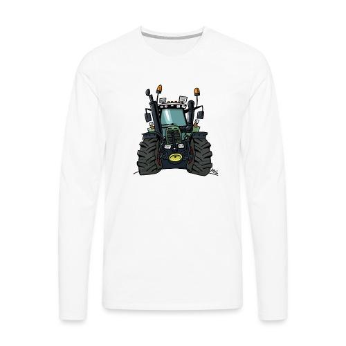 0255 F 824 - Mannen Premium shirt met lange mouwen