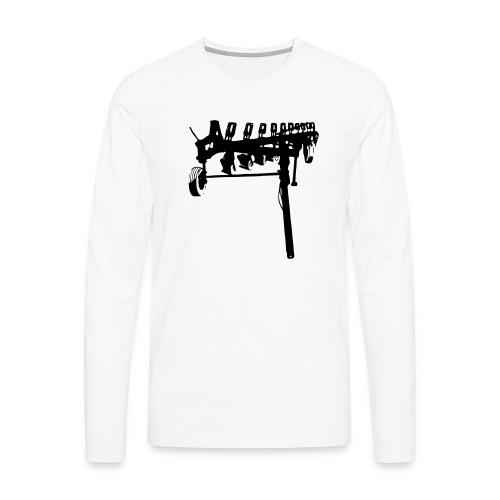 trailed plow - Men's Premium Longsleeve Shirt