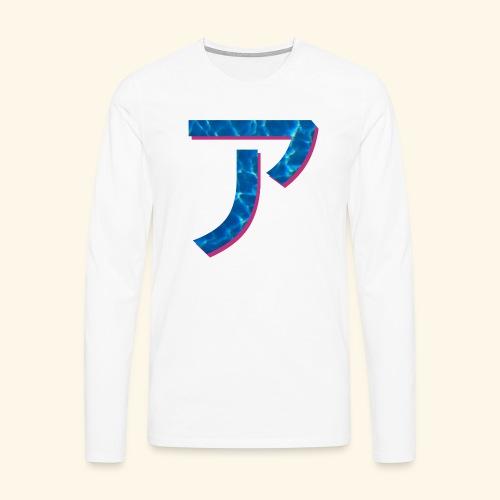 ア logo - T-shirt manches longues Premium Homme