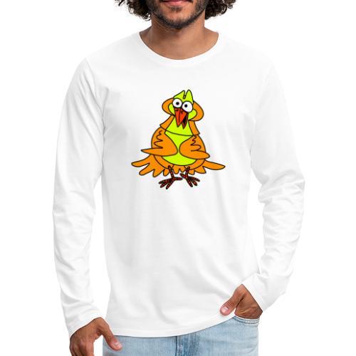 Vogel Nr 3 von dodocomics - Männer Premium Langarmshirt