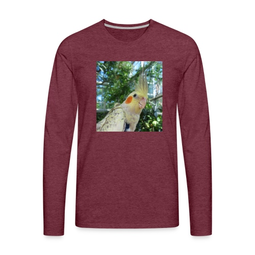 ninjanen - Miesten premium pitkähihainen t-paita