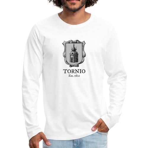 Tornio Est 1621 - Miesten premium pitkähihainen t-paita