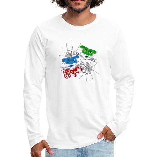 mostri alieni - Maglietta Premium a manica lunga da uomo