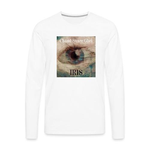 Iris - Premium langermet T-skjorte for menn