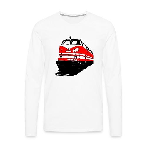 Deutsche Reichsbahn - Männer Premium Langarmshirt