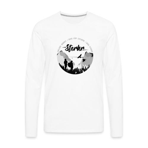STERKR - Fjordview - Men's Premium Longsleeve Shirt