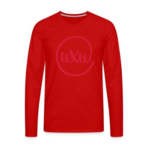 UXU logo round - Men's Premium Longsleeve Shirt