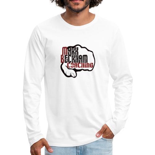 MB COACHING NEW LOGO - Men's Premium Longsleeve Shirt