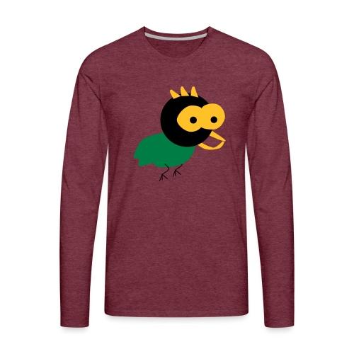 lintu-eps - Miesten premium pitkähihainen t-paita