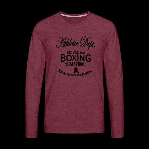 (high_school_couleur_uni) - T-shirt manches longues Premium Homme