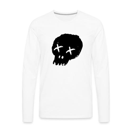 blackskulllogo png - Men's Premium Longsleeve Shirt