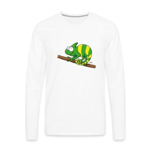 chamaeleon - Männer Premium Langarmshirt