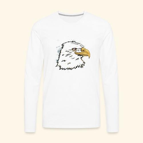 Aguila Emperador Kutuxa - Camiseta de manga larga premium hombre