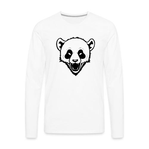 Panda - Männer Premium Langarmshirt