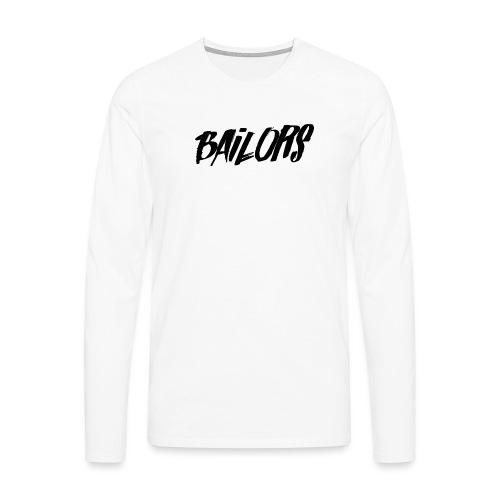 Bailors painted - Mannen Premium shirt met lange mouwen