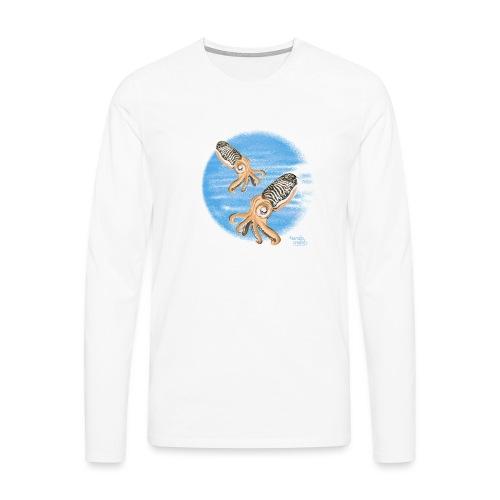 Sepia - scuba diving - T-shirt manches longues Premium Homme