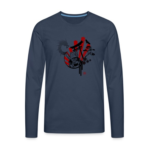 Samourai Bushido - T-shirt manches longues Premium Homme