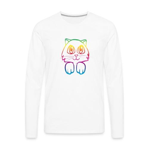 rainbow_pussy - Men's Premium Longsleeve Shirt