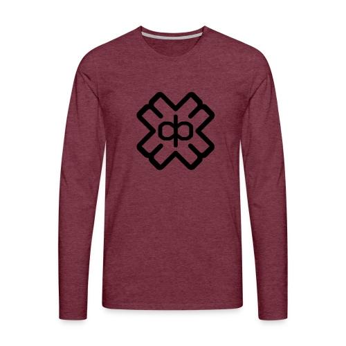 d3ep logo black png - Men's Premium Longsleeve Shirt