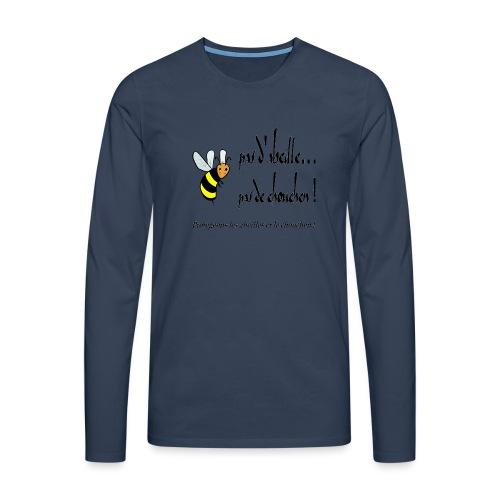 Pas d'abeille, pas de chouchen - T-shirt manches longues Premium Homme