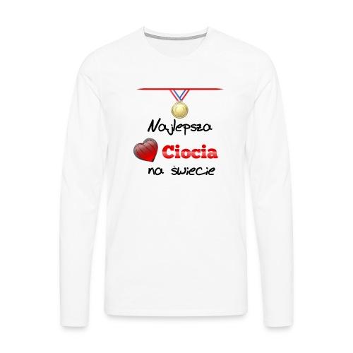 nadruk_rodzinne_05 - Koszulka męska Premium z długim rękawem