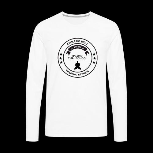 MTS92 BOXING THAI SCHOOL ROND - T-shirt manches longues Premium Homme