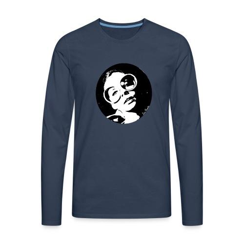 Vintage brasilian woman - T-shirt manches longues Premium Homme