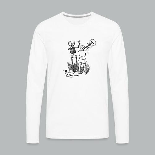 DFBM unbranded black - Men's Premium Longsleeve Shirt