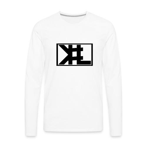 kllogga2 png - Långärmad premium-T-shirt herr
