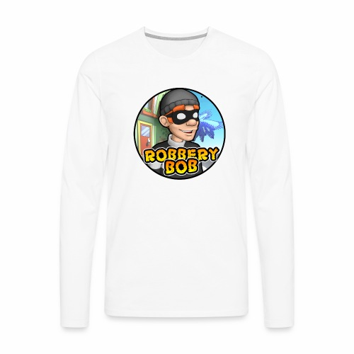 Robbery Bob Button - Men's Premium Longsleeve Shirt