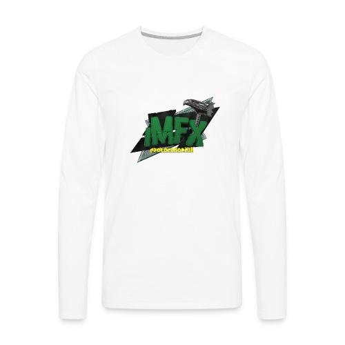 [iMfx] paolocadoni98 - Maglietta Premium a manica lunga da uomo